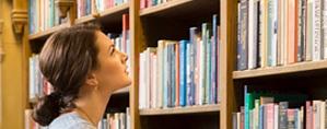 Consulta ao acervo da biblioteca