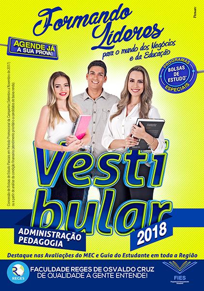 Panfleto-REGES OC-Vestibular 2018 (Frente)