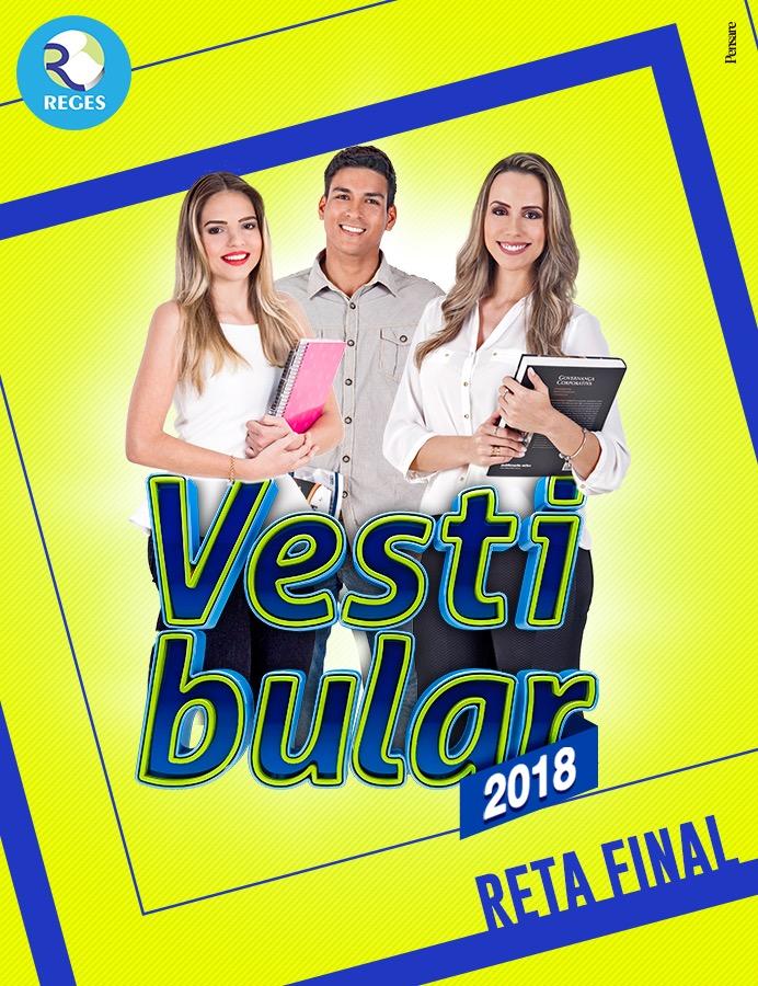 Vestibular 2018 da Faculdade Reges de Osvaldo Cruz entra em sua Etapa Final