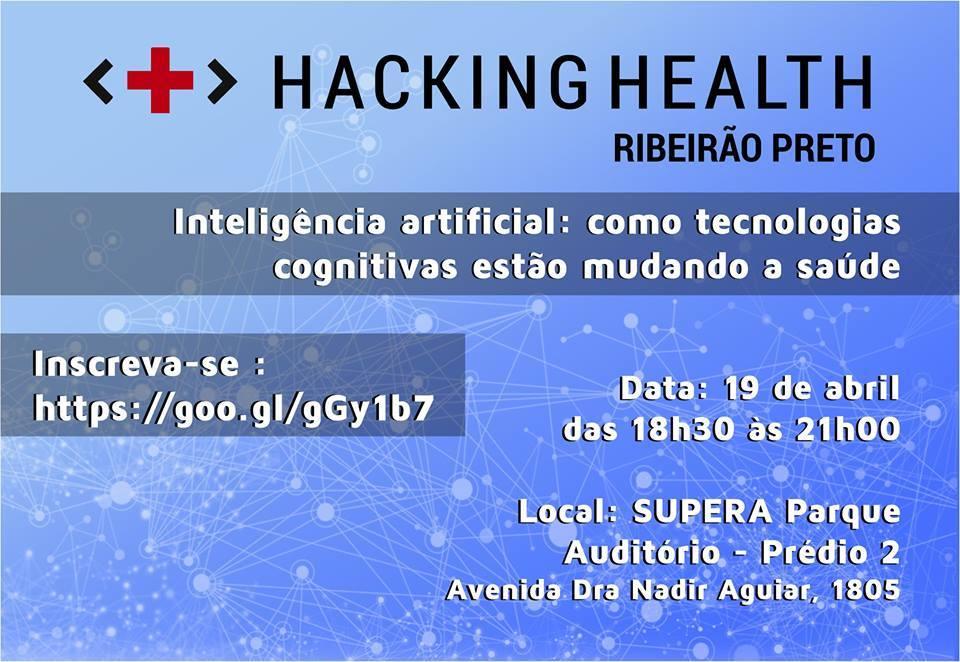 Faculdade Reges participa de Hacking Health com palestra sobre tecnologias na área da saúde